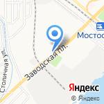 Лойд на карте Астрахани