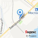 Гефест на карте Астрахани
