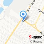 Кавказская пленница на карте Астрахани