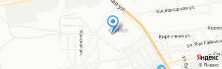 Детский сад №124 Здоровый ребенок на карте Астрахани