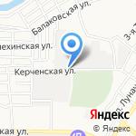 РОССНАБ на карте Астрахани