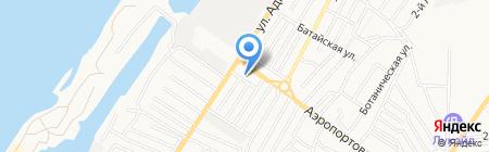 Санитарно-гигиеническая лаборатория на карте Астрахани