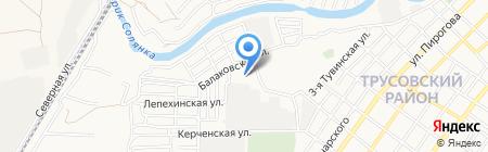 Комплексный центр социального обслуживания населения Трусовского района на карте Астрахани