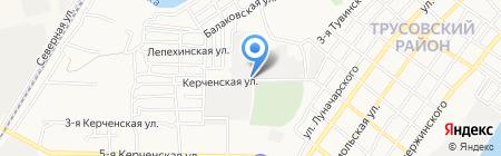 ЭКО окна на карте Астрахани