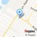 Отдел надзора на транспорте и санитарной охраны территории на карте Астрахани