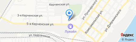 АГЗС на карте Астрахани