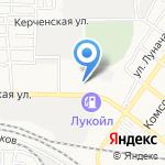 Пропан+ на карте Астрахани