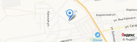 Жилищник №26 на карте Астрахани