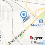 Кораблик на карте Астрахани
