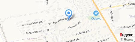 Служба природопользования и охраны окружающей среды Астраханской области на карте Астрахани