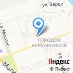 Горизонт на карте Астрахани