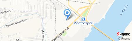 Детский сад №34 на карте Астрахани