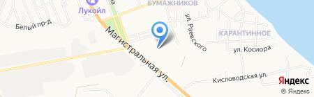 Храм Феодоровской иконы Божией Матери на карте Астрахани