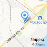 Киоск по продаже продовольственной продукции на карте Астрахани