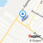 РИВ-КАР на карте Астрахани