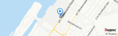 ЭРА-СВ на карте Астрахани