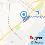 Табачная лавка на карте Астрахани