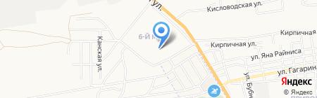В двух шагах на карте Астрахани