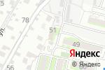 Схема проезда до компании Уют в Астрахани