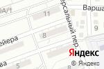 Схема проезда до компании Городская поликлиника №10 в Астрахани