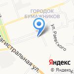 Стоматология Гашимовых на карте Астрахани