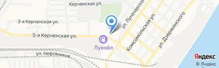 СТРОЙ маркет на карте Астрахани