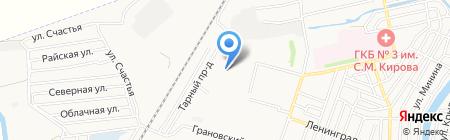 Почтовое отделение №38 на карте Астрахани