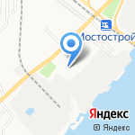 Преображение на карте Астрахани