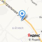 Евростиль на карте Астрахани