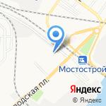 Дельта РСТ на карте Астрахани