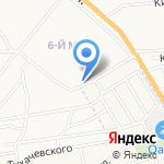 Городская поликлиника №10 на карте Астрахани