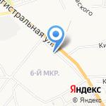 Махан на карте Астрахани