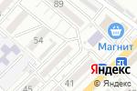 Схема проезда до компании Для Вас в Астрахани