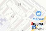 Схема проезда до компании Киоск по продаже кондитерских изделий в Астрахани