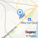 Киоск по продаже кондитерских изделий на карте Астрахани