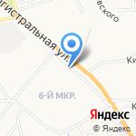 Квант на карте Астрахани