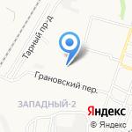 Я на карте Астрахани