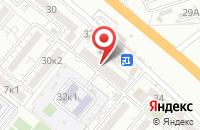 Схема проезда до компании Берег в Астрахани