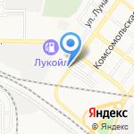 Лотос-Авто на карте Астрахани