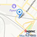 Клондайк на карте Астрахани