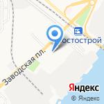 Поликлиника №2 на карте Астрахани