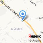 Магазин по продаже фруктов и овощей на карте Астрахани