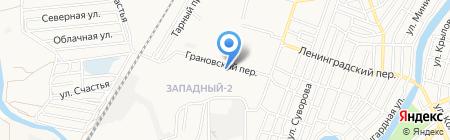 Эксфорт на карте Астрахани