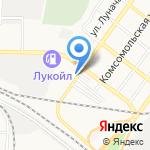 Шиномонтажная мастерская на карте Астрахани