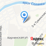 Средняя общеобразовательная школа №58 на карте Астрахани