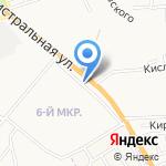 Цветочный магазин на карте Астрахани