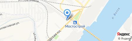 ТИТАН-2 на карте Астрахани