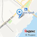 Жилищник №1 на карте Астрахани