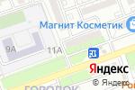 Схема проезда до компании Бриг-2004 в Астрахани