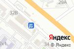 Схема проезда до компании Киоск по продаже яиц в Астрахани
